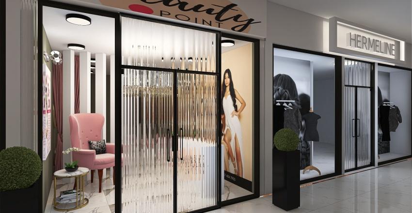 Aesthetics & Spa Design Interior Design Render
