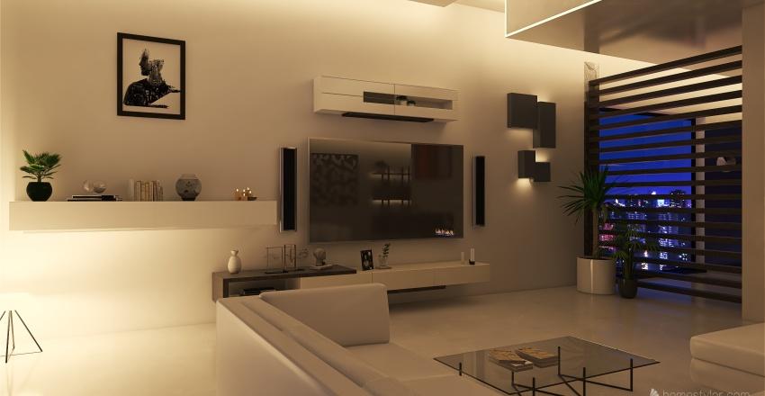 Californiana Interior Design Render