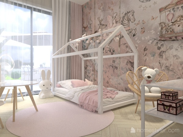agnes home Interior Design Render