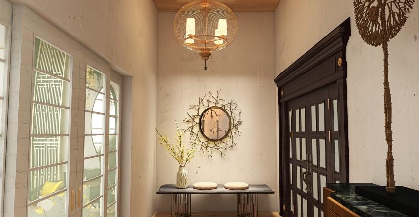 Asian Persuasion Interior Design Render