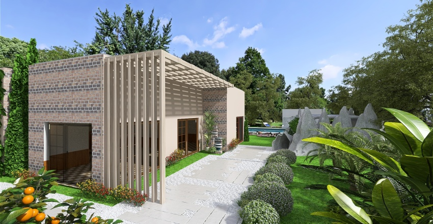 villa acquarius.... Interior Design Render