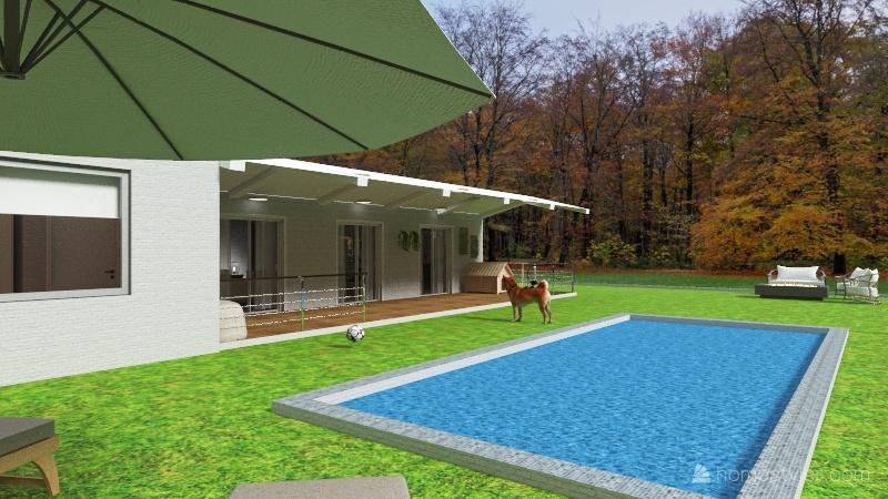 Proyecto km14 Interior Design Render