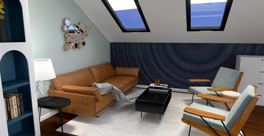 Casa delle vacanze Interior Design Render