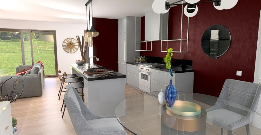 MR TEISSIER ET MME GALIANA Interior Design Render