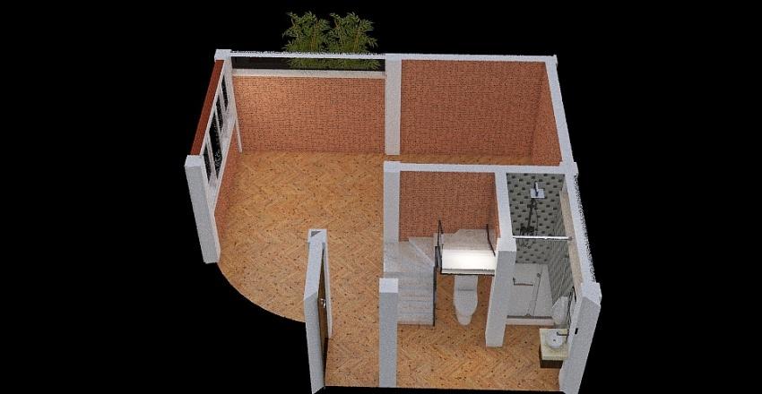 Casa de campo_Mejorada Interior Design Render