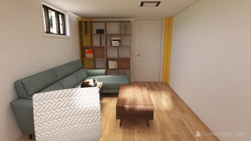 1floor Interior Design Render