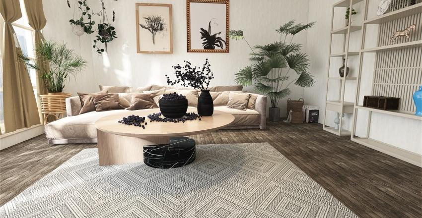 House 10 Interior Design Render