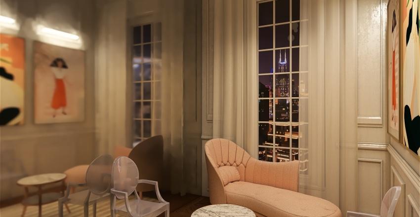 Budoir Interior Design Render