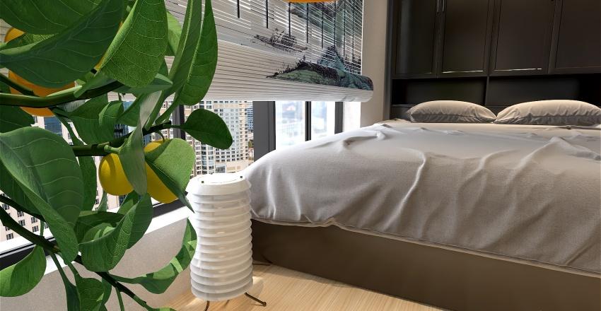 Apartment renovation Interior Design Render