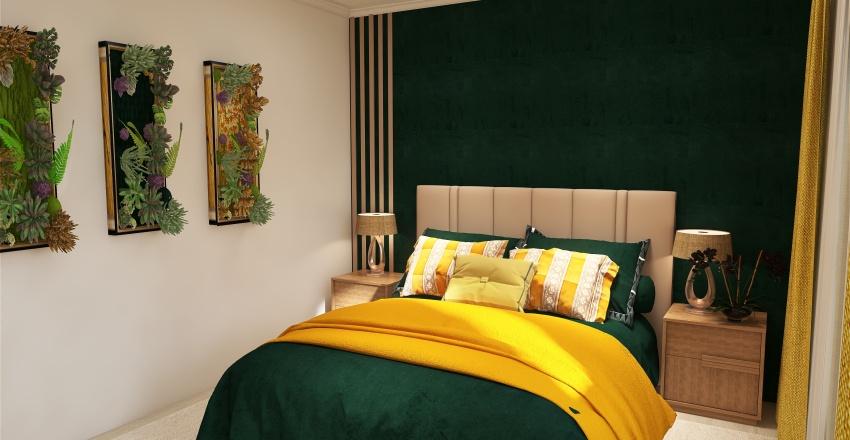 Dormitor Buta Interior Design Render