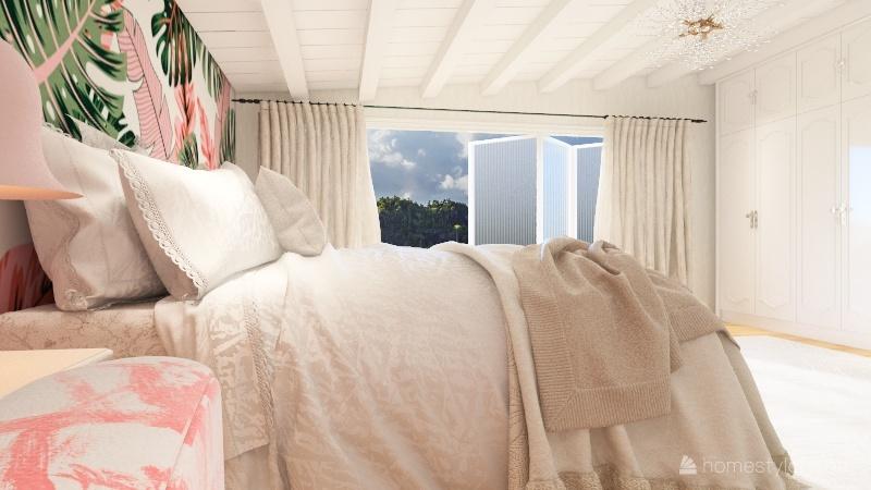 another girls bedroom Interior Design Render