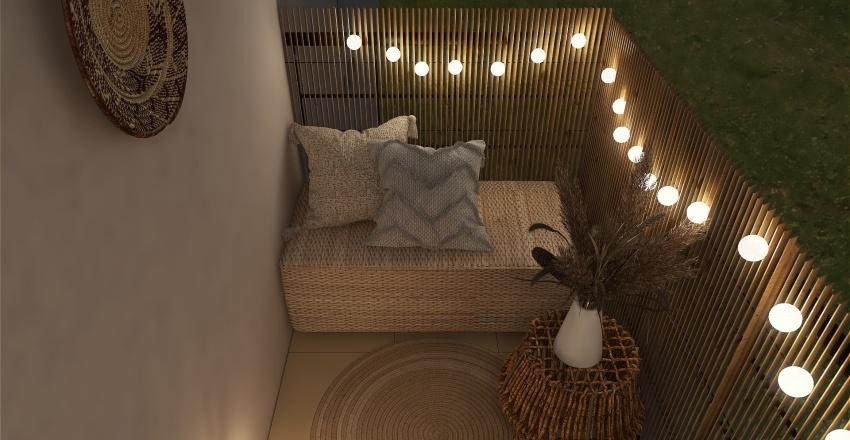 Aménagement balcon Amal Interior Design Render