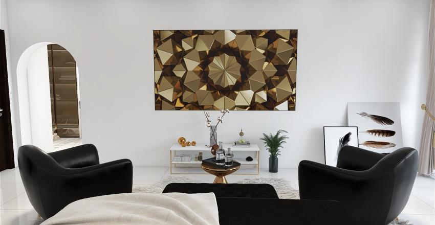 Glam Interior Design Render