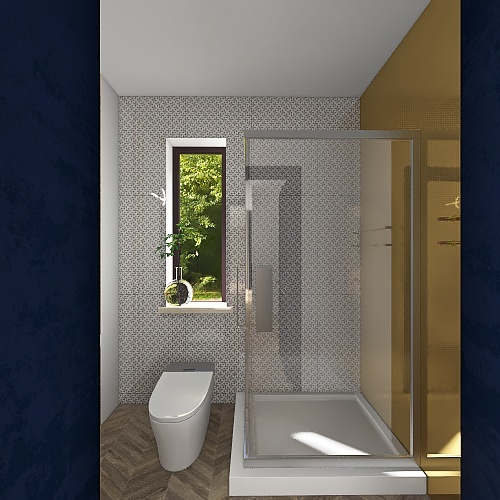 Modernistyczny Interior Design Render