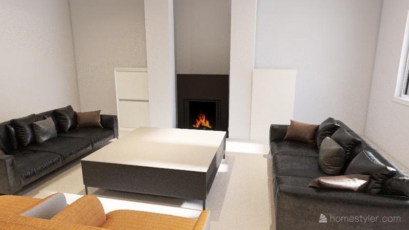 Wyman House Interior Design Render