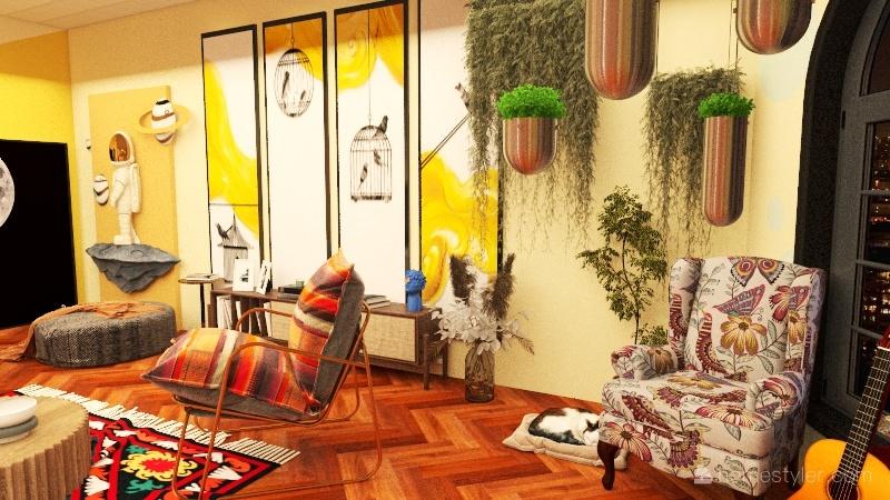 TROPICAL HOUSE Interior Design Render