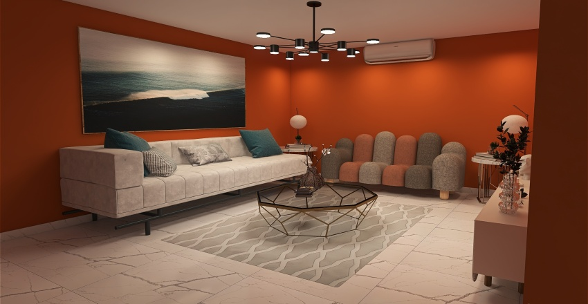 elegance Interior Design Render