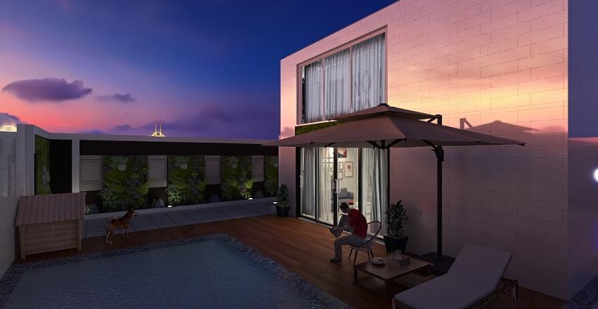 House_1 Interior Design Render