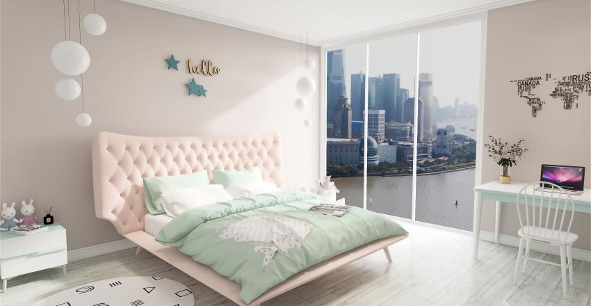 Комната для подростка Interior Design Render