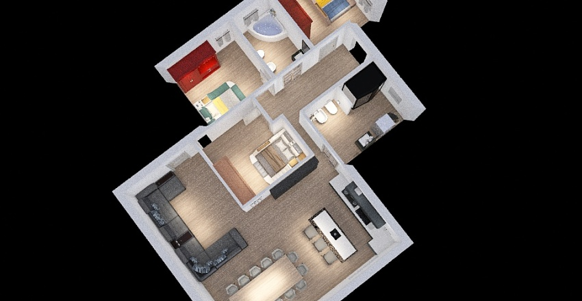 Copy of corbetta-shaltout-bongiovanni_co-housing_copy Interior Design Render