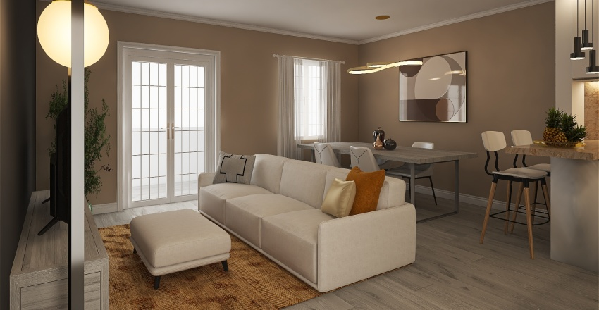Proyecto Cesar (Tercera Propuesta 19072021) Interior Design Render