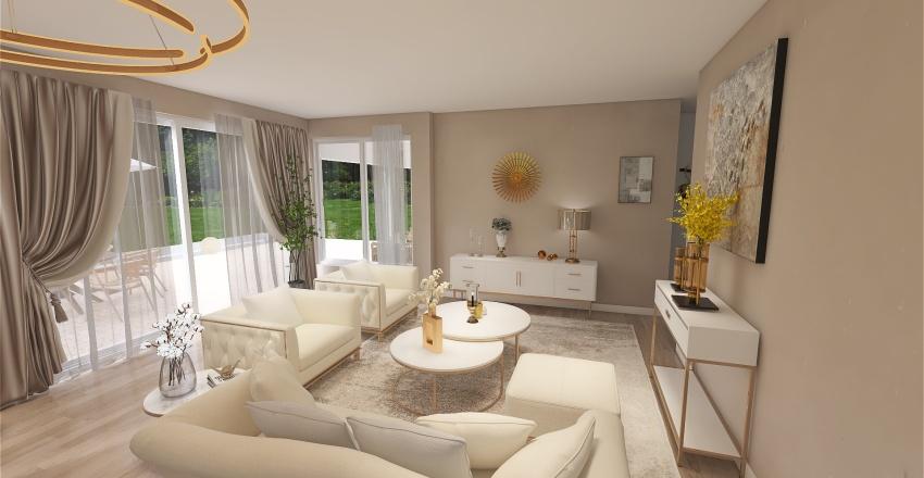 Villa Two Interior Design Render