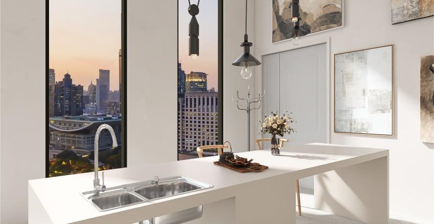 Modern Penthouse Interior Design Render