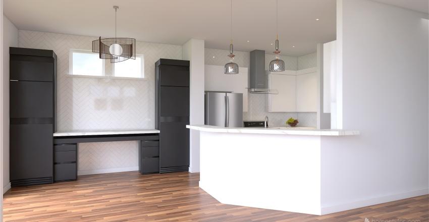 Main Level Revised - Catherine Reeves Interior Design Render