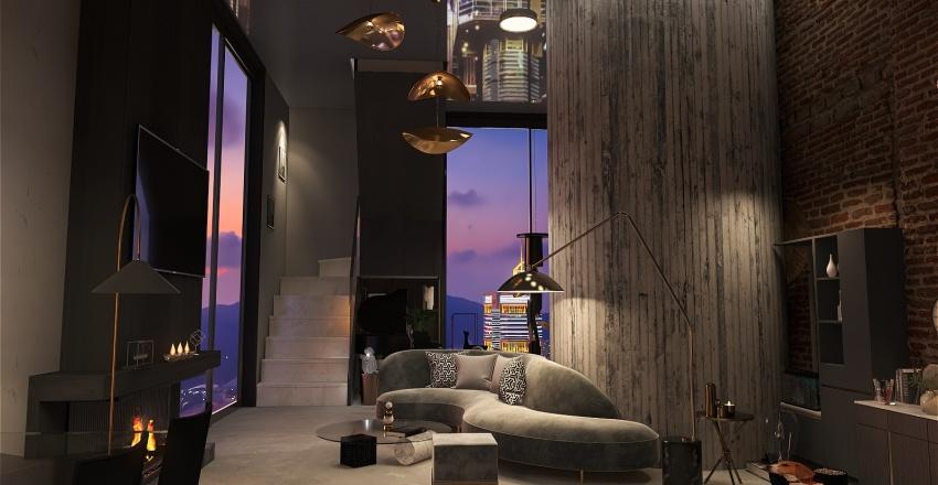 House no15  Interior Design Render
