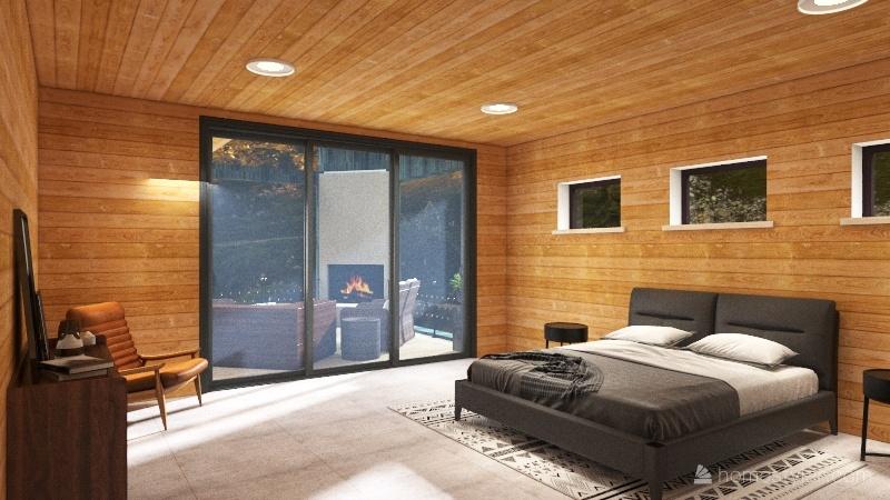 Broken Bow Cabin (FINAL) Interior Design Render