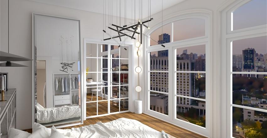 New York Apartement Interior Design Render