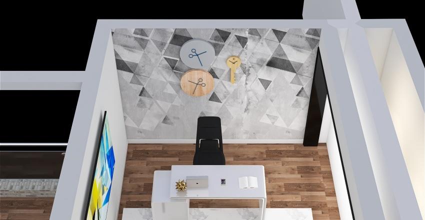 Stand Interior Design Render