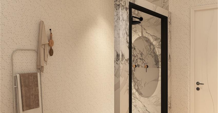 Scandinavian appart Interior Design Render