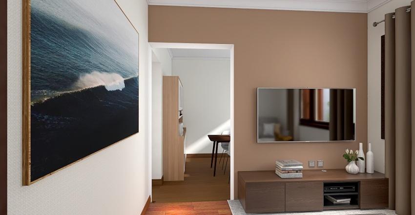 Casa do são jorge Interior Design Render