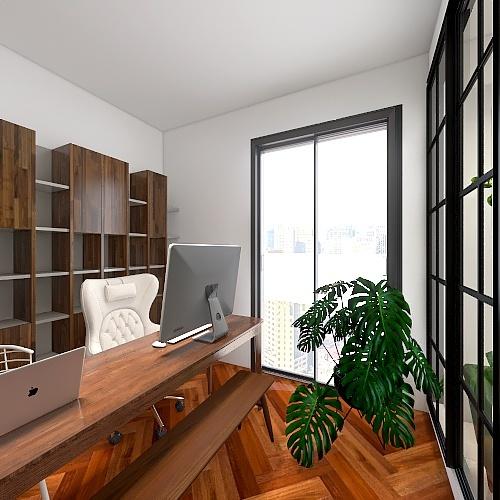 平面設計圖 Interior Design Render