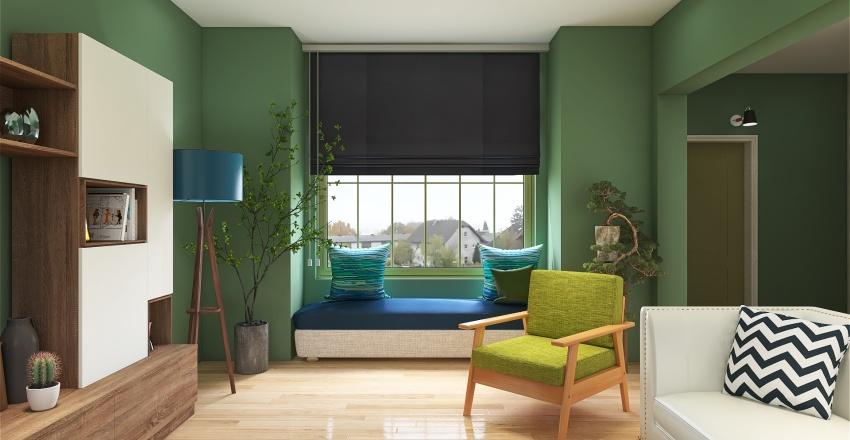 A peaceful home Interior Design Render