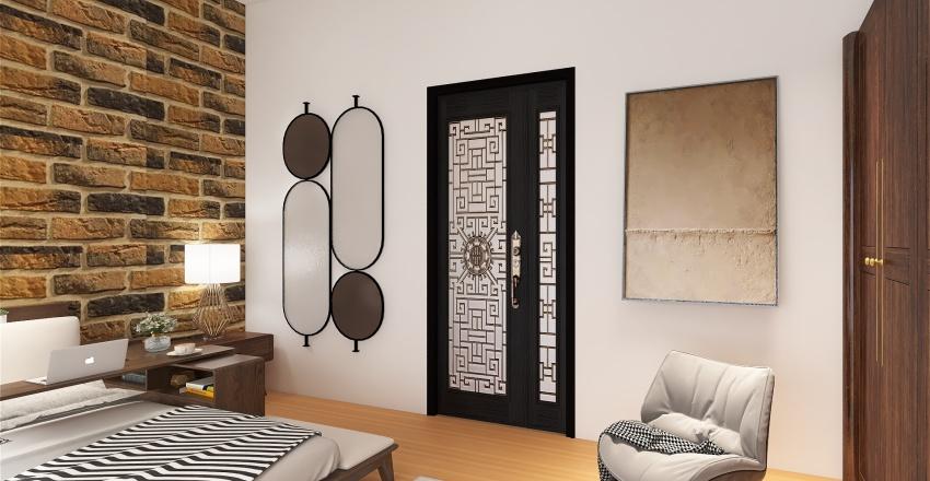 appartement moderne Interior Design Render