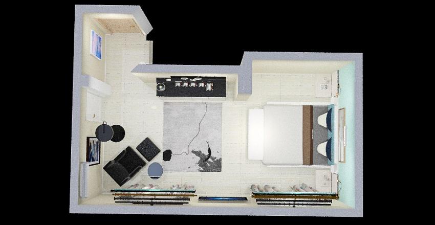 Habitacion Puri Interior Design Render