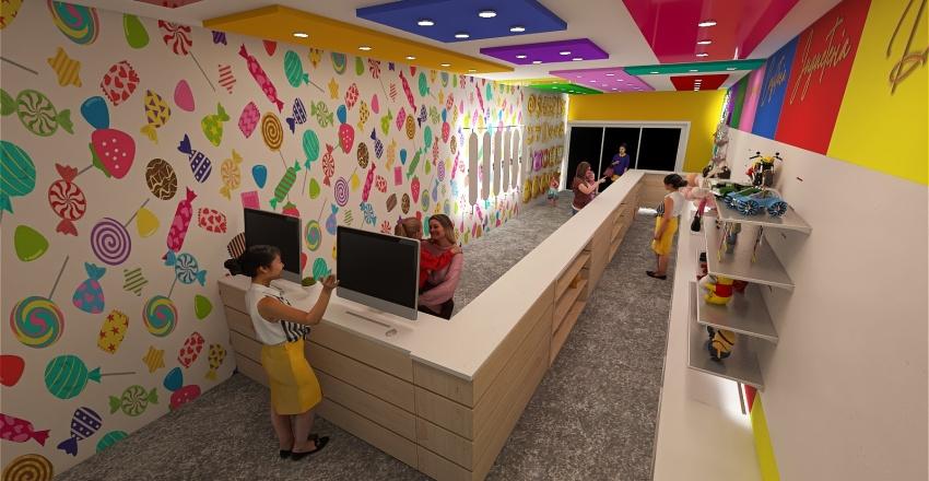 Amor Candy Interior Design Render
