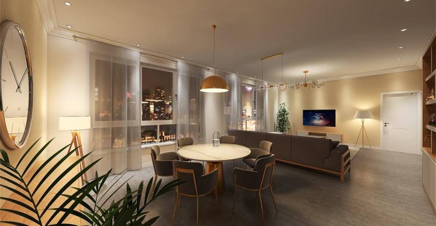 Casa Covid Interior Design Render