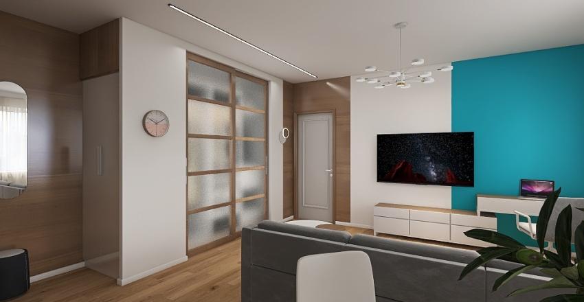 св ав 4в бирюза Interior Design Render