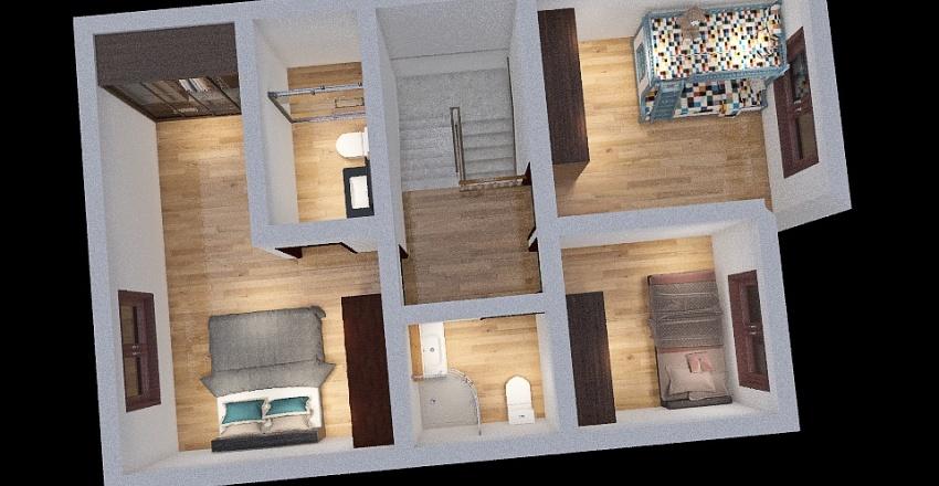 Copy of Casa Mucho Lote modelo 2 Interior Design Render