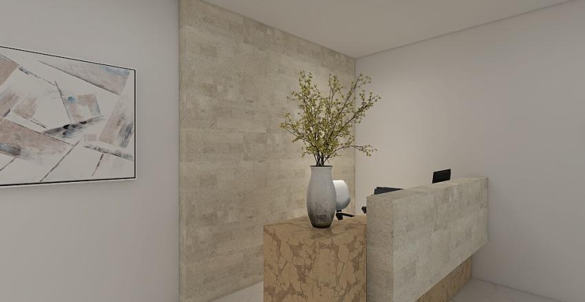 Predio duplex - mercado e office Interior Design Render