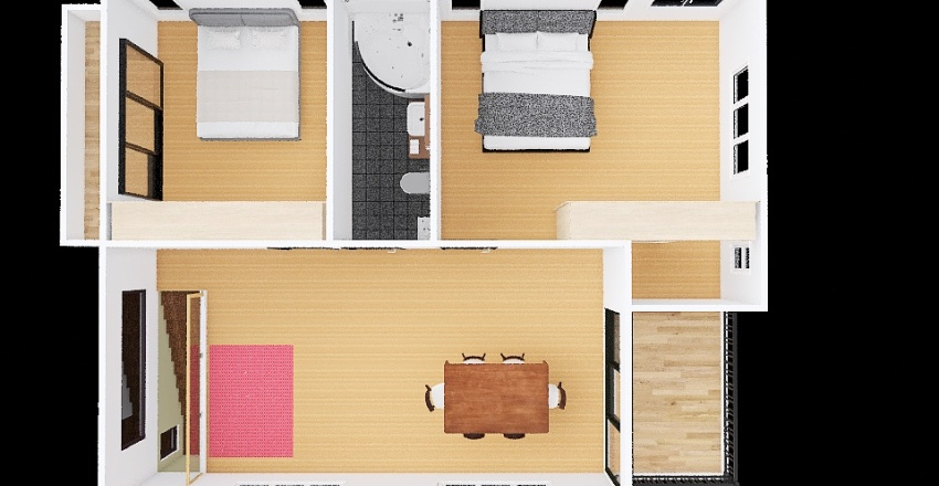 บ้านภูเวียง 2021 Interior Design Render