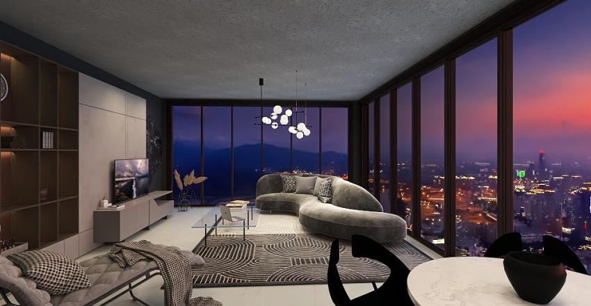 NY Shadow Interior Design Render