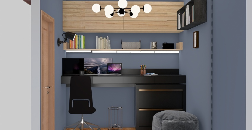 Escritório Du Interior Design Render