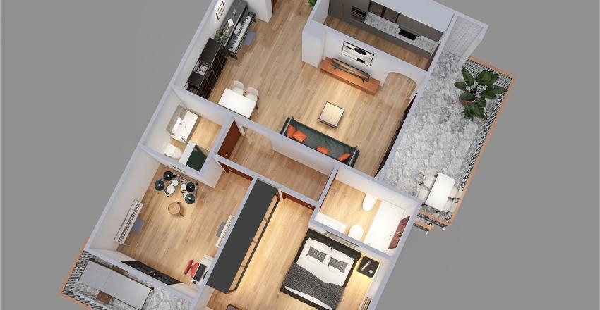 Pallanza Interior Design Render