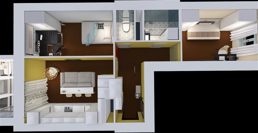 PK 20 Interior Design Render