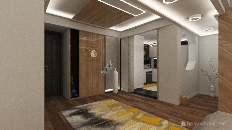 my first try:} Interior Design Render