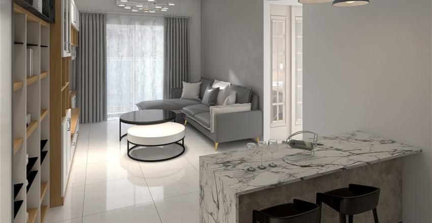 喵胖家 (北歐風) Interior Design Render